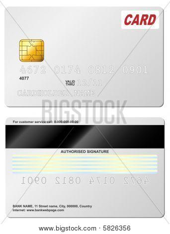 Kreditkarte.