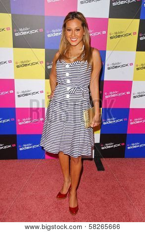 Sabrina Bryan at the launch of T-Mobile Sidekick ID, T-Mobile Sidekick Lot, Hollywood, CA. 04-13-07