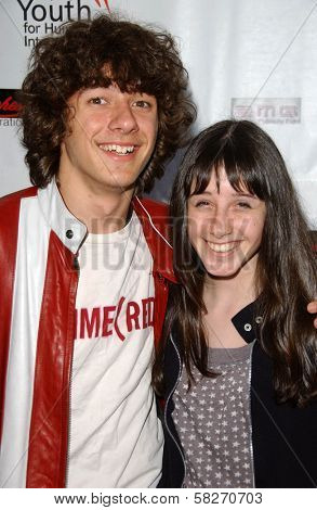 Matthew Underwood and Cassidy Lehrman at a Fashion and Music Extravaganza Promoting Human Rights for Youth. Church of Scientology Celebrity Centre Pavilion, Los Angeles, CA. 04-14-07