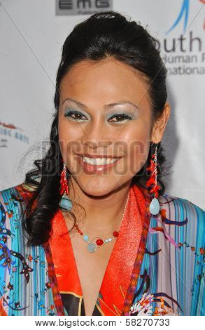 Cassandra Hepburn at a Fashion and Music Extravaganza Promoting Human Rights for Youth. Church of Scientology Celebrity Centre Pavilion, Los Angeles, CA. 04-14-07