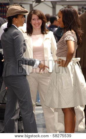 Victoria Rowell and Kerry Washington at the ceremony honoring Forest Whitaker with the 2,335th Star on the Hollywood Walk of Fame. Hollywood Boulevard, Hollywood, CA. 04-16-07