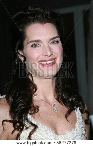 Brooke Shields at the Oscar De La Renta Boutique Opening Benefiting EIF Women's Cancer Research Fund. Saks Fifth Avenue, Beverly Hills, CA. 04-18-07