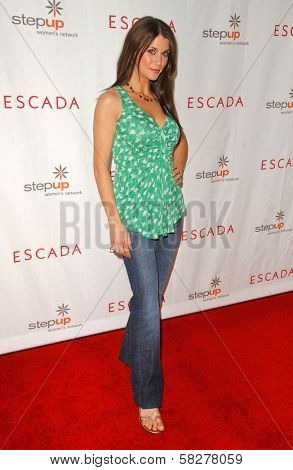 Samantha Harris at an Escada 2007 Fall Winter Sneak Preview to Benefit Step Up Women's Network. Beverly Hills Hotel, Beverly Hills, CA. 04-19-07