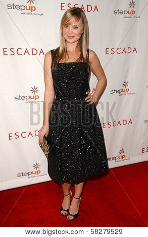 Sara Simmonds at an Escada 2007 Fall Winter Sneak Preview to Benefit Step Up Women's Network. Beverly Hills Hotel, Beverly Hills, CA. 04-19-07