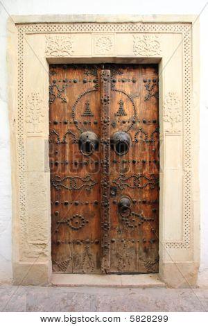 Traditional Door From Cartagena