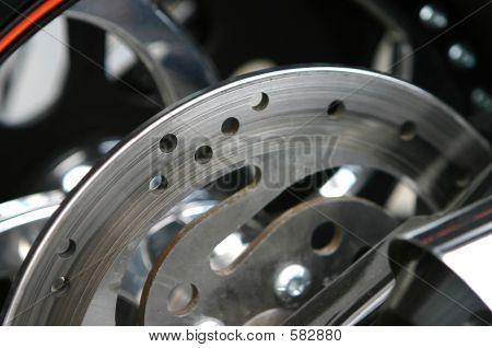 Bike Brake Detail