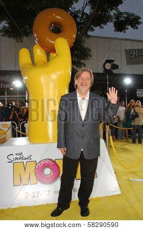Matt Groening at the World Premiere of