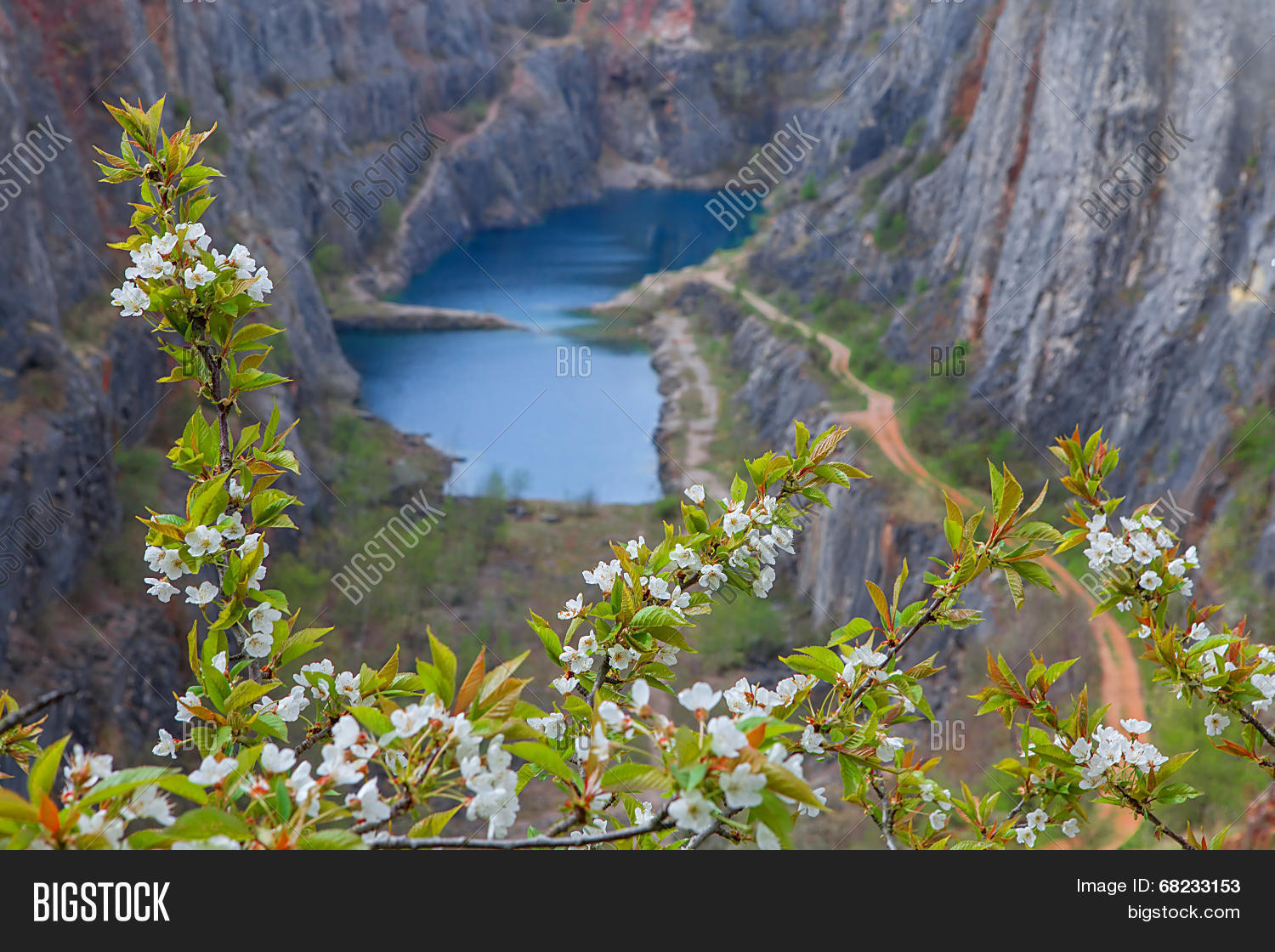 Abandoned Quarry Near Image & Photo (Free Trial) | Bigstock