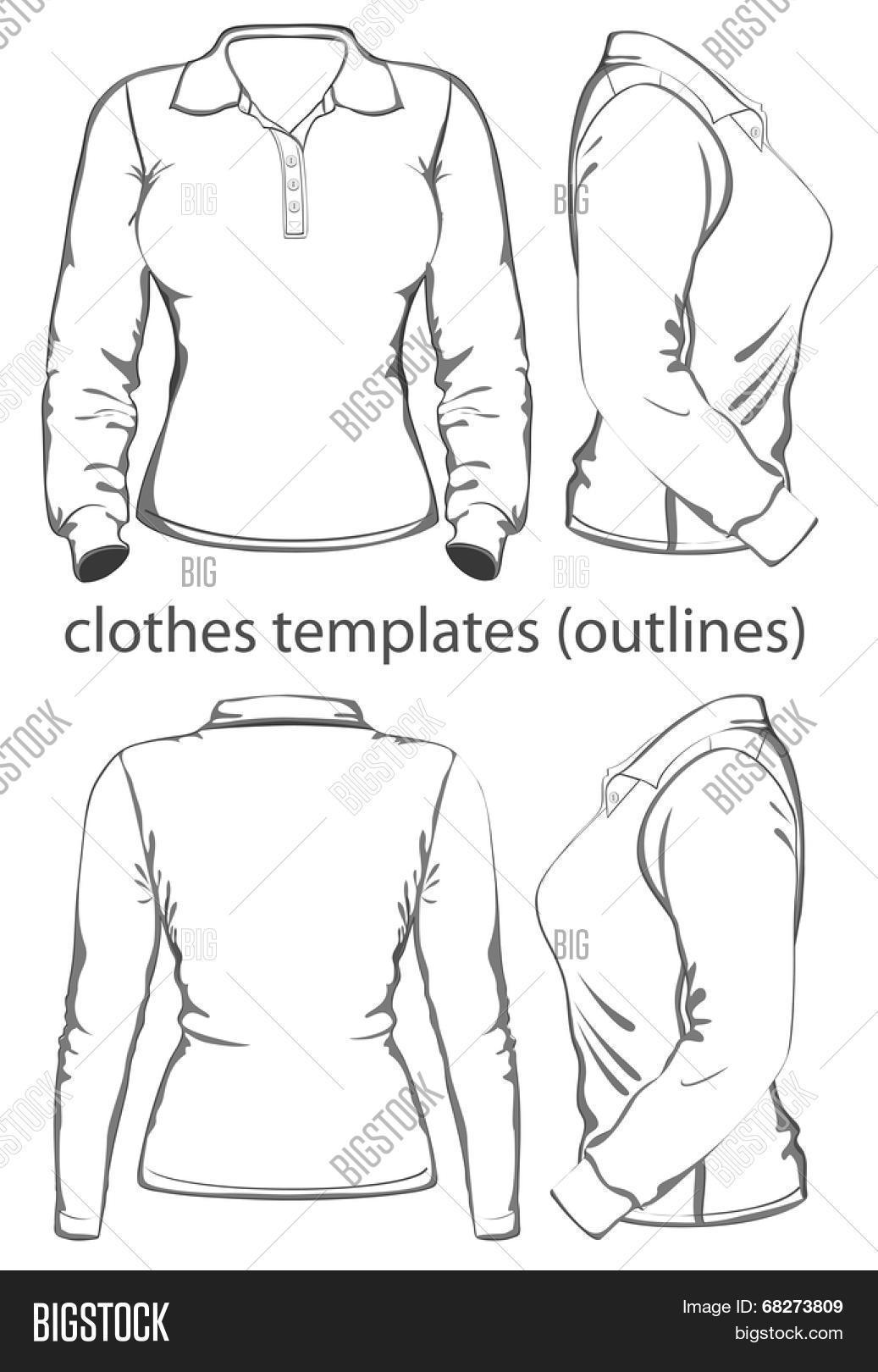 Womens Polo Shirt Vector Photo Free Trial Bigstock