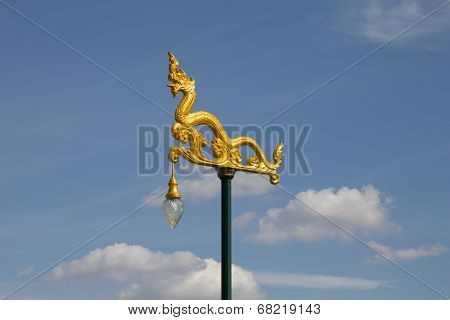 Thai Traditional Street Lamp
