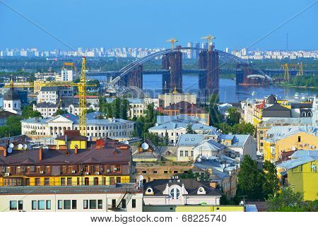 View Of The City Kiev