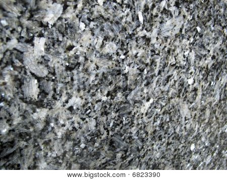 Abstract Black And White Marble Background