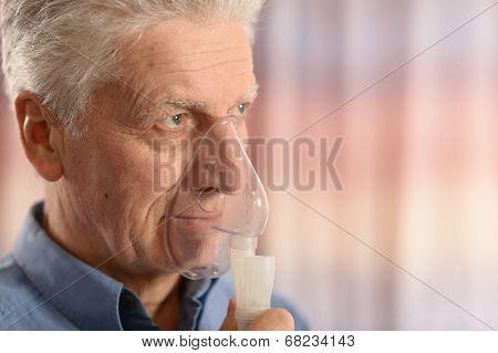 Close-up portrait of an elder man