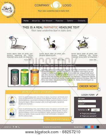 website template 40