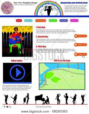 Website Template 52