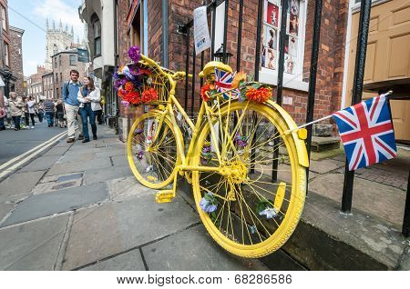Yellow Bike in York