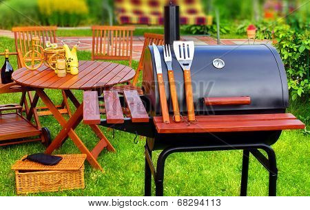 Summer Picnic In The Backyard