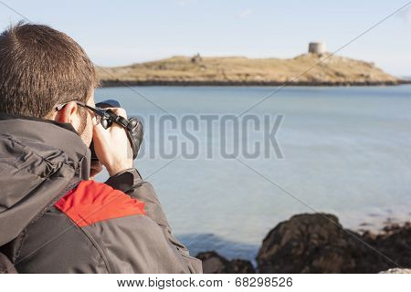 Young Photographer Travelling