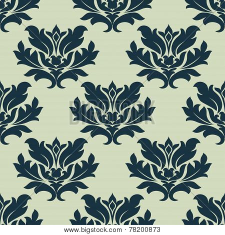 Foliage scroll seamless tracery