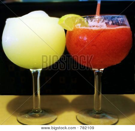 Yellow and Red Margaritas