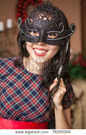 Girl on carnival