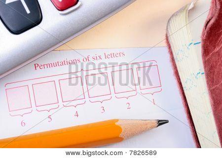 Permutations Of Six Letters