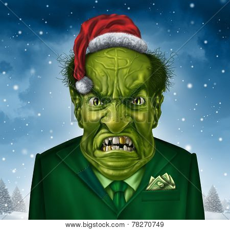Greedy Holiday Boss