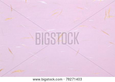 Closeup of Traditional Japanese handmade paper, texture background poster