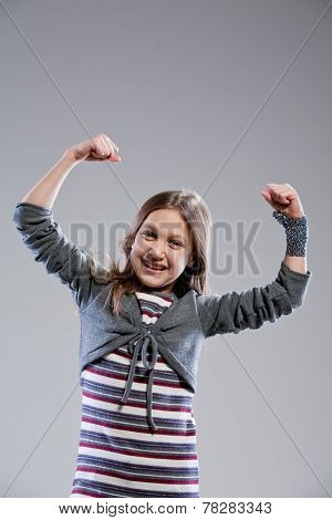 I'm The Strongest Girl In The World