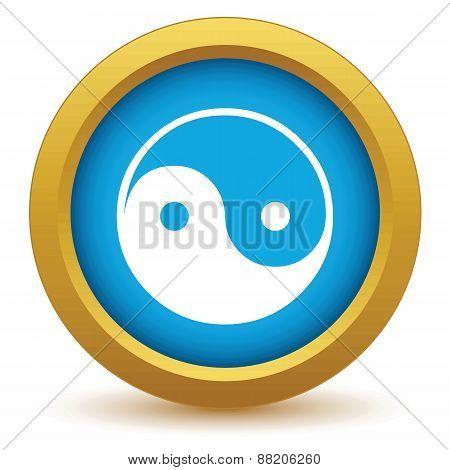Gold Taoism icon