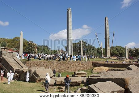 Axum, Ethiopia, Africa