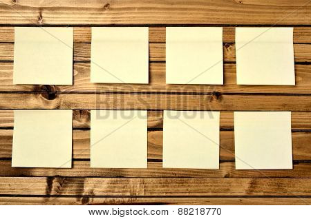 Eight Post Notes