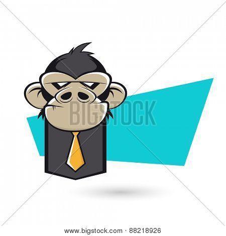 angry business ape