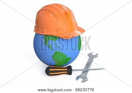 Global Service And Repair Concept