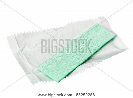 Chewing Gum Is On The White