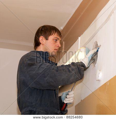 Electrician Repairing Wiring
