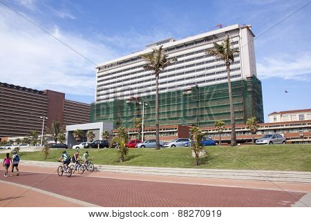 Refurbished Addington Hospital On Durban's Golden Mile Beachfront