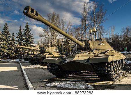 Russian Is3 Tank