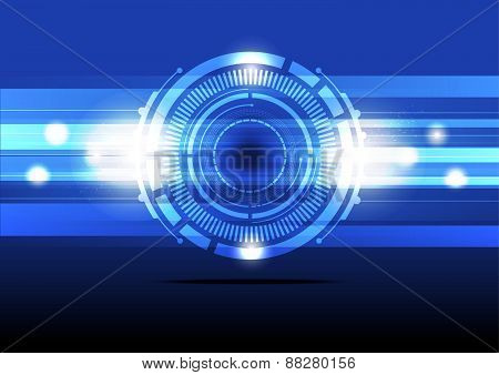 Abstract Energy Concept Background Design