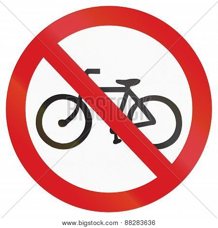 No Bicycles In Argentina