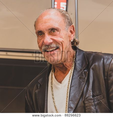 Les Gold Of The Tv Series Hardcore Pawn At Fuorisalone During Milan Design Week 2015