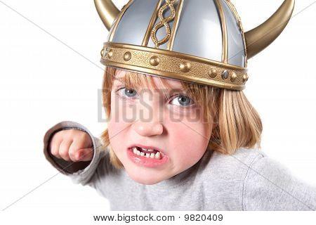 Viking Child Helmet Isolated