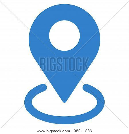 Geo Targeting icon from Business Bicolor Set