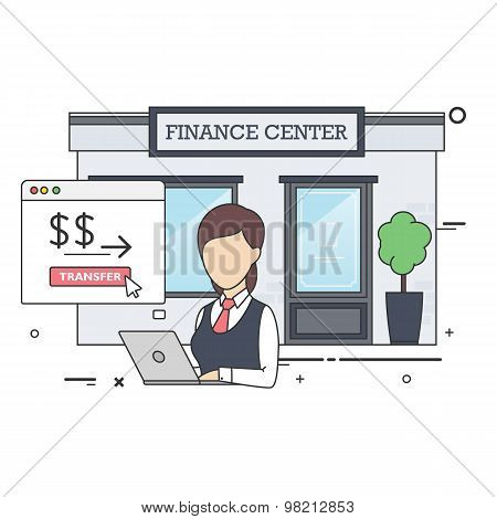 Female Finance Specialist