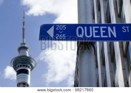 Auckland New Zealand Cityscape