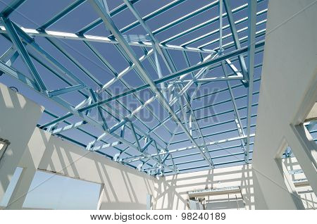 Structure Of Steel Roof-04