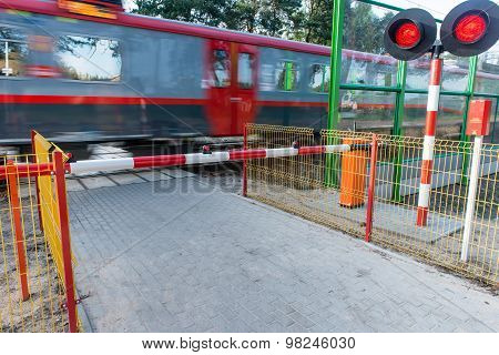Crossing The Railway Track