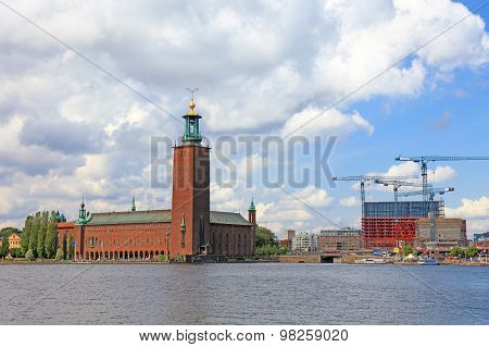 Stockholm City Hall, Sweden, Europe.