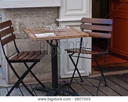 Paris A Small Cafe