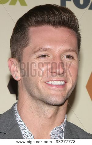 LOS ANGELES - AUG 6:  Travis Wall at the FOX Summer TCA All-Star Party 2015 at the Soho House on August 6, 2015 in West Hollywood, CA